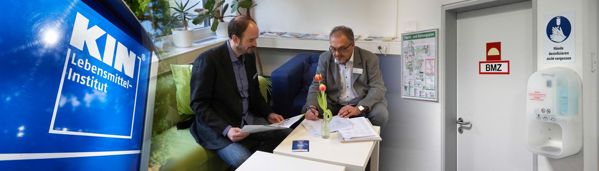Auditsituation bei dem Lebensmittel-Institut KIN e. V. Fachschule für Lebensmitteltechnik
